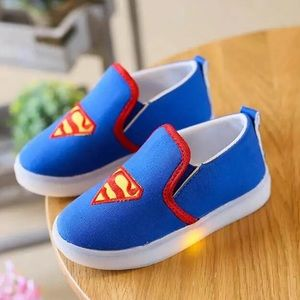 Other - Cool Superman LED Light Up Sneakers
